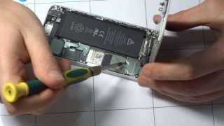 Замена стекла в сборе с дисплеем на iPhone 5(, 2014-02-28T11:46:08.000Z)
