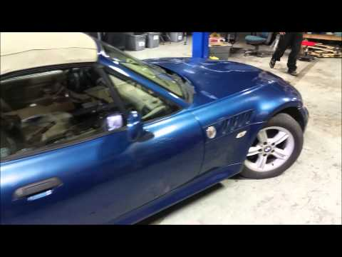 PARTING OUT - 2000 BMW Z3 2.3L Convertible - EUROHOLICS EUROPEAN AUTO PARTS