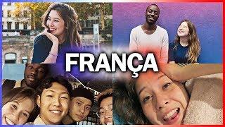 VIAJANDO PRA FRANÇA #1 🇫🇷 Primeiros dias com os amigos do intercâmbio!