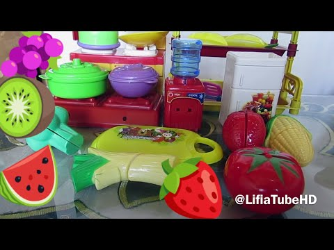 Chef Niala - Masak masakan Mainan Anak Fruit Kinect (Cut Fruit) @LifiaTubeHD