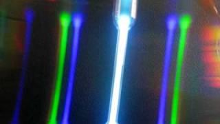Espectro de emisión de Mercurio
