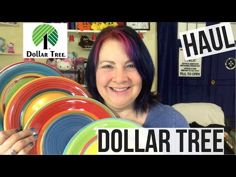 Dollar Tree Haul Last One of May 2017 | Colorful Plates !