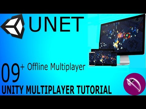 09. Unity Multiplayer Tutorial (UNET Lobby Manager)