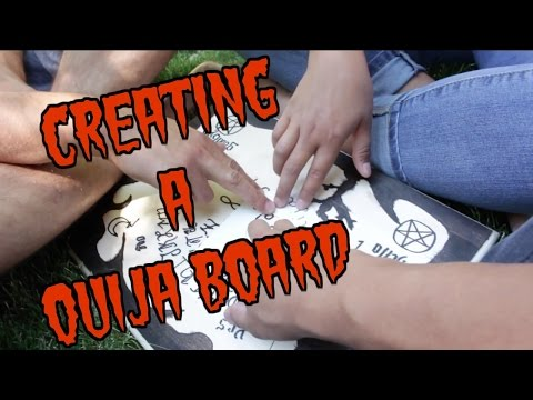 DIY OUIJA BOARD (Make at your own risk)