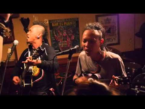 MARJINAL HUKUM RIMBA ACOUSTIC LIVE in BAR EL PUENTE LIVE on 20140505