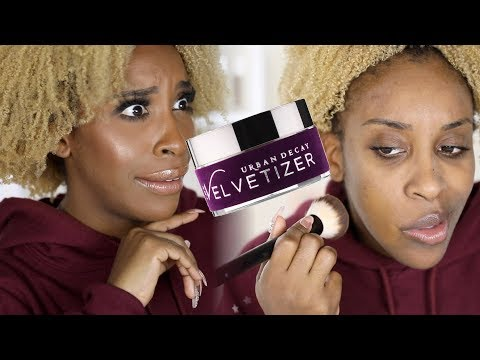 Urban Decay Velvetizer-The HELL Is In This Stuff?!!? | Jackie Aina
