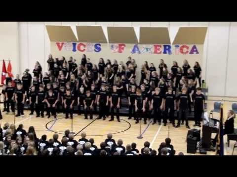 Elkhorn Valley View Middle School 2012 Fall Choir Concert - 7th Chorus - Song of the Soldier Medley