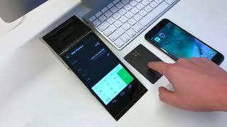 Buying cryptocurrency via Pundi X smart device