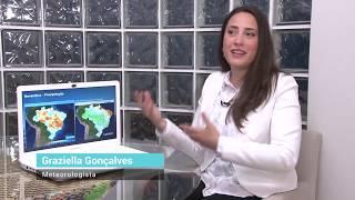 Como será a chuva no início do período úmido de 2019?