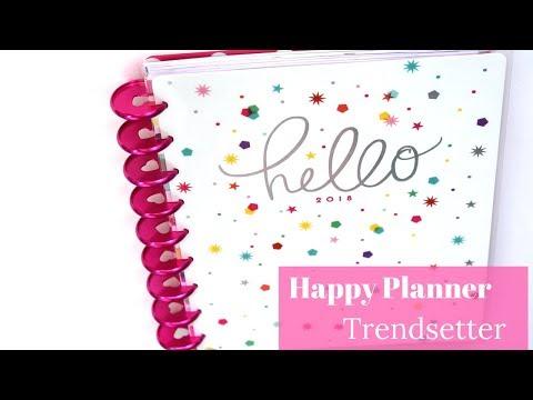 """Happy Planner Girl """"Trendsetter"""" Planner"""