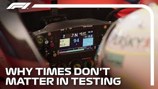 Why Times Don't Matter In F1 Testing