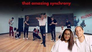 NCT 127 엔시티 127 'Regular (English Ver.)' Dance Practice REACTION (NCT REACTION)
