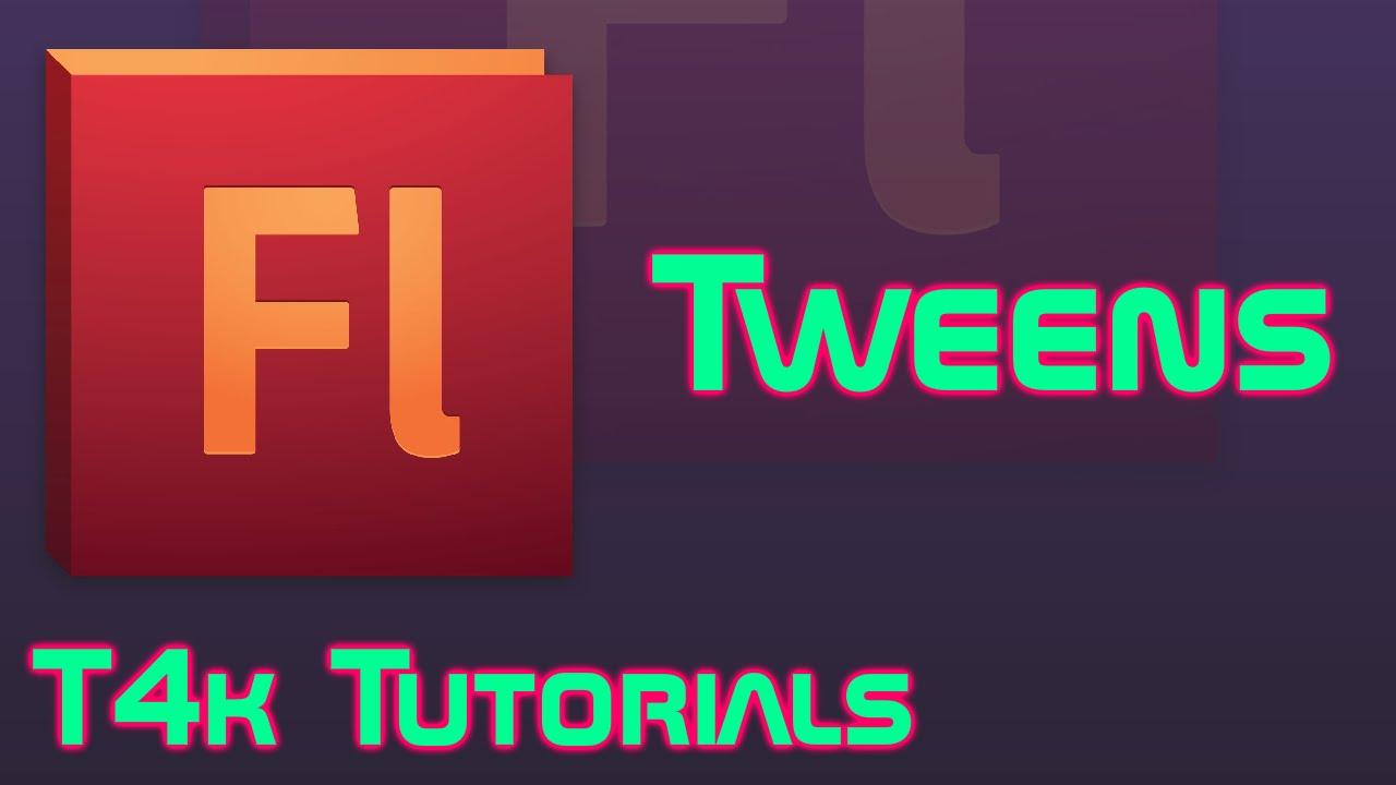 Tweening in Adobe Flash | T4k Tutorials - YouTube