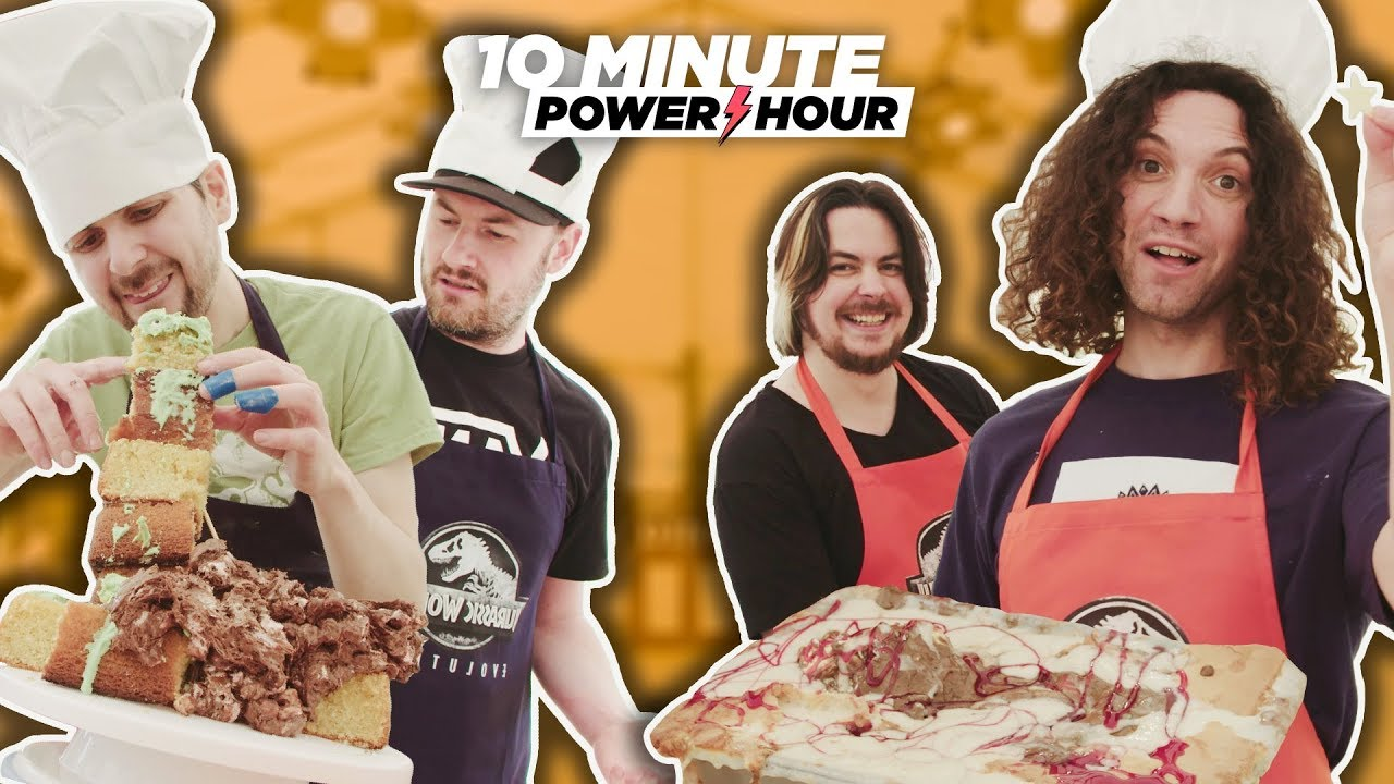 Jurassic Make Off (Sponsored Episode Ft. Yogscast) – 10 Minute Power Hour