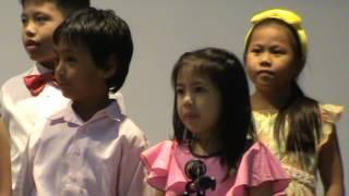 Children choir singing at Bangkok International Church