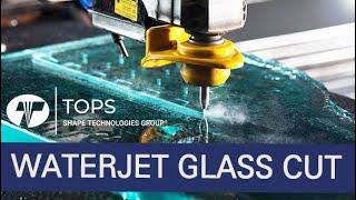 유리절단 가공 워터젯 Glass Cut Waterjet…