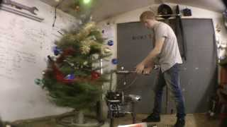 A NEW way to take down the xmas decorations, The UnDecor 500c