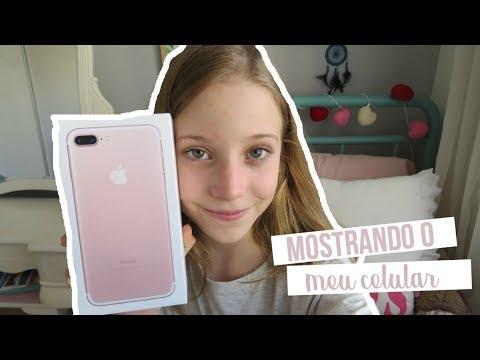MOSTRANDO MEU IPHONE 7PLUS - Malu Altmann