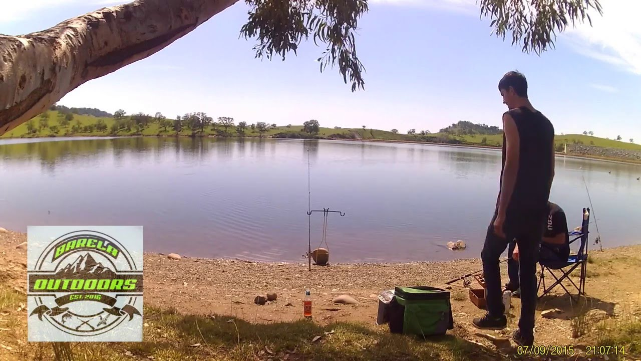 Trout fishing at lake mcswain youtube for Lake mcclure fishing report