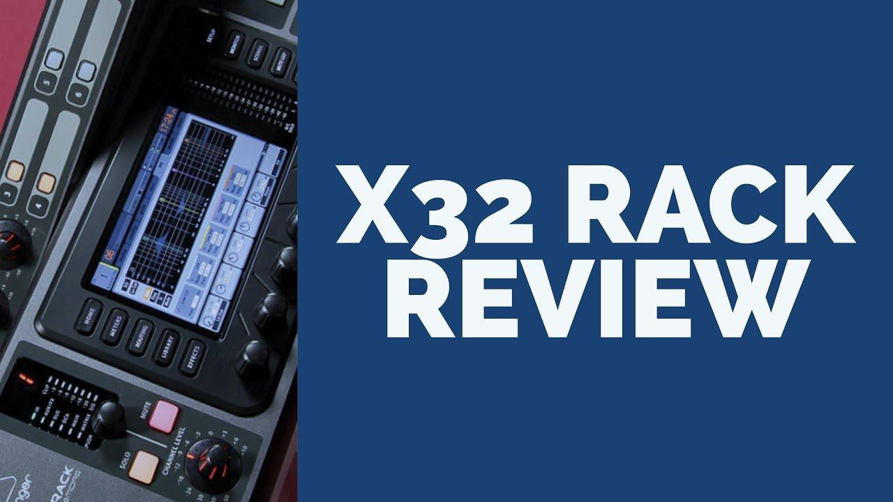 behringer x32 rack an honest review best in ear monitor system youtube. Black Bedroom Furniture Sets. Home Design Ideas