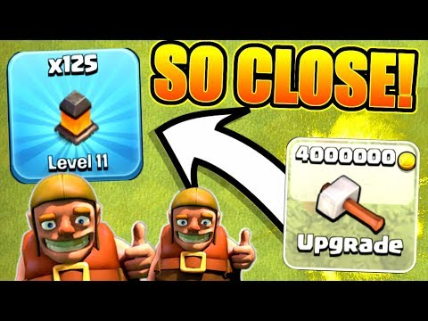 ROAD TO TOWN HALL 12!! THE FINAL STEP!! - Clash Of Clans