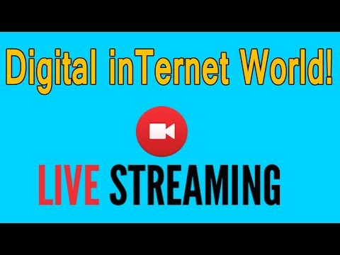 Digital InTernet World Live Stream Ask Your Any Question