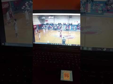 Macon East Academy Boys Basketball #3 Artavias Billups with the JAM