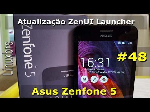 Asus Zenfone 5 - Atualização do ZenUI Launcher - Português
