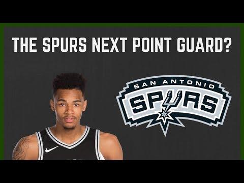 DEJOUNTE MURRAY: The next San Antonio Spurs POINT GUARD!