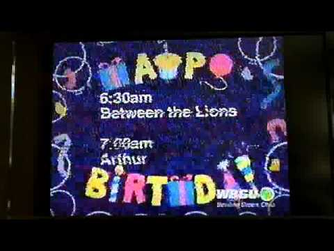 PBS Kids Schedule Bumper (2005 WBGU-TV) - YouTube