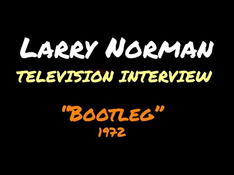 Larry Norman - Television Interview - [1970/1971]