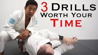 3 dynamic jiujitsu drills worth every second | bjj drills worth your time