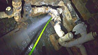 Sewer Clog Sludge Mess - Drain Pros Ep. 75