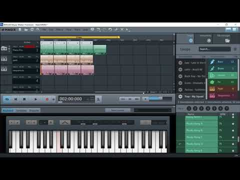 how to make a trap beat with music magix maker
