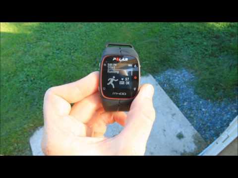 Polar M400 GPS Watch - First Run Overview