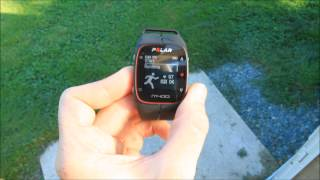 Polar M400 GPS Watch - First Run Overview