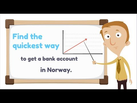 Open a bank account in Norway !!- The quickest way