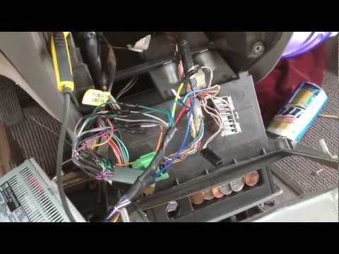 How To Nissan Quest 1997 Deck Install Audio Troubleshooting