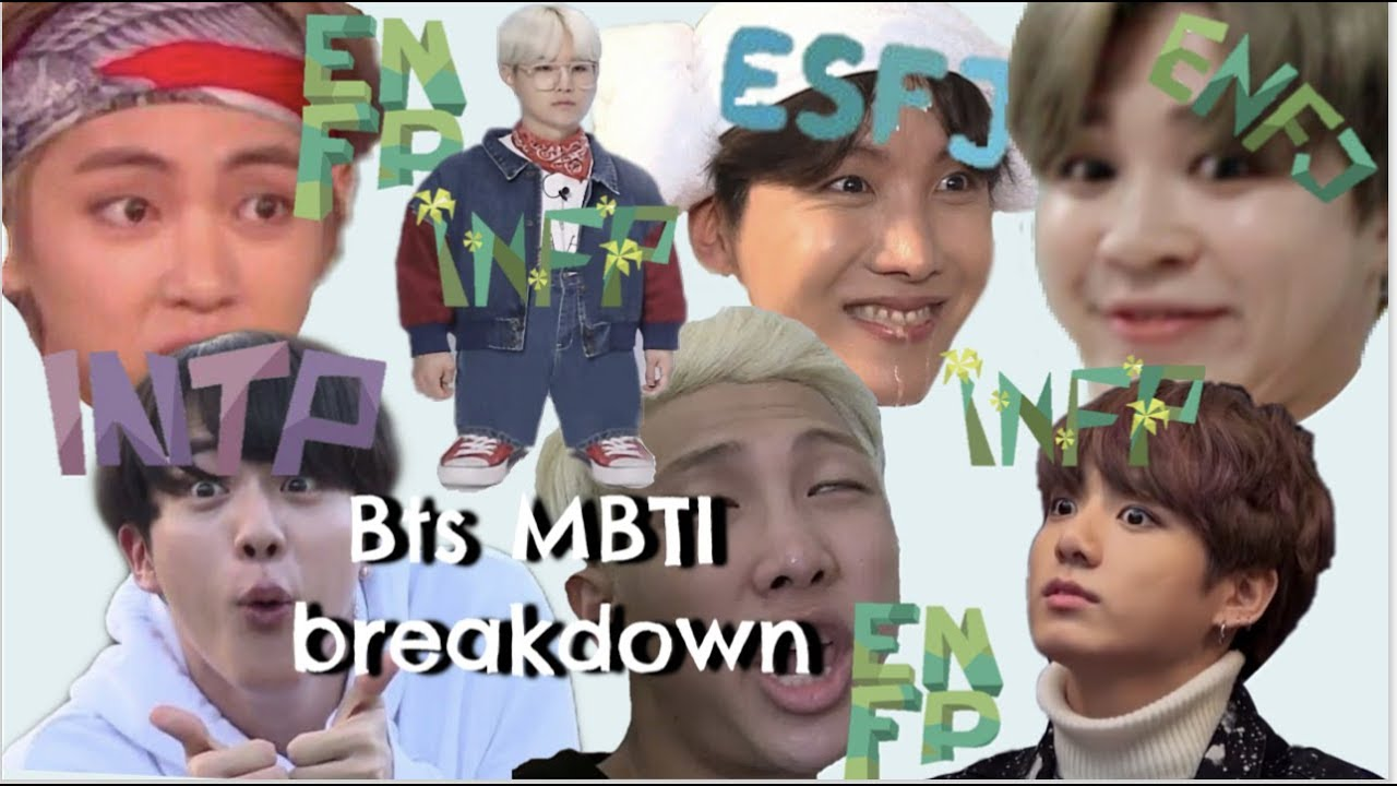 BTS personality types explained (MBTI)
