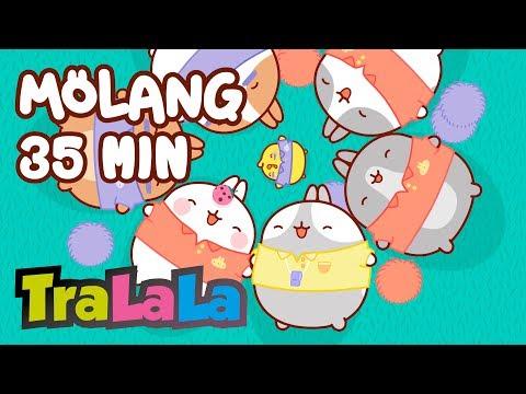 Cantec nou: Molang 35MIN (Un meci de rugby) - Desene animate | TraLaLa