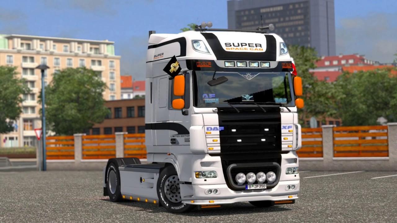 euro truck simulator 2 daf tuning pack dlc. Black Bedroom Furniture Sets. Home Design Ideas