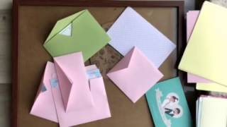 Как делать конверты своими руками