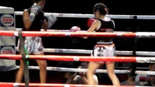 曾慧英Tsang Wai Ying Venus fight at Libogen Fight Night 5 Mar 2010 - Round 2