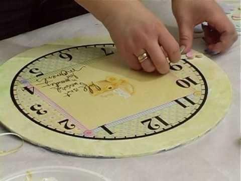 видео: Часы ручной работы
