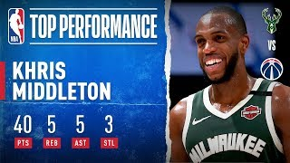 Middleton GOES OFF For 40 PTS On The Road!