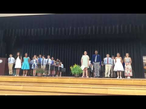 King Street school song sung