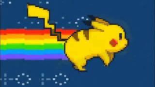 pikachu nyan cat pika pika song