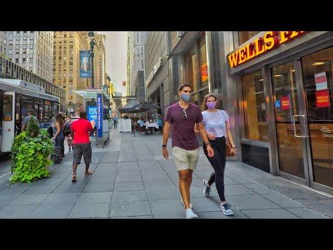 ⁴ᴷ⁶⁰ Walking Midtown Manhattan New York City Via Grand Central Terminal (August 22, 2020)