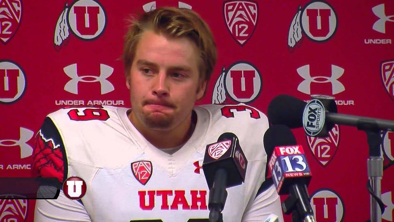 Utah kicker Andy Phillips on Arizona State loss 11 01 2014