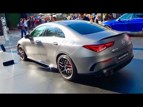Mercedes CLA 45 AMG S Coupe (2020) - first look & review (Aero & Night Package, 421 HP)